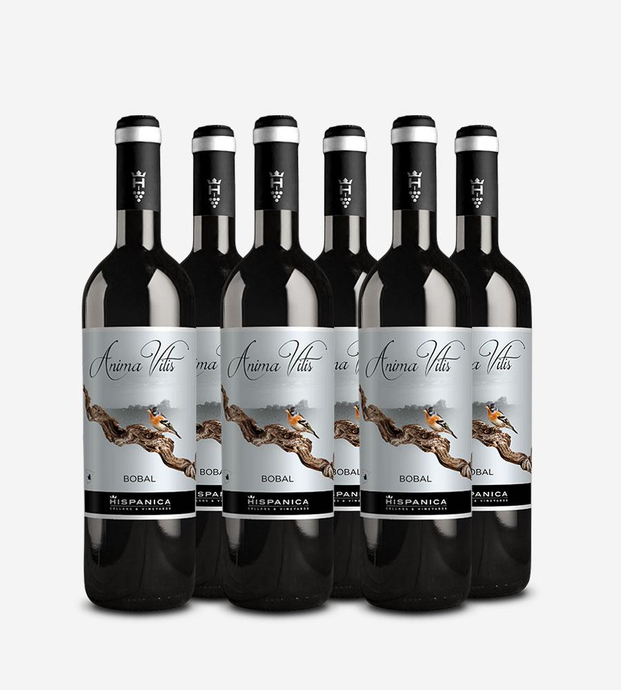 Pack 6 botellas de vino Anima Vitis Bobal