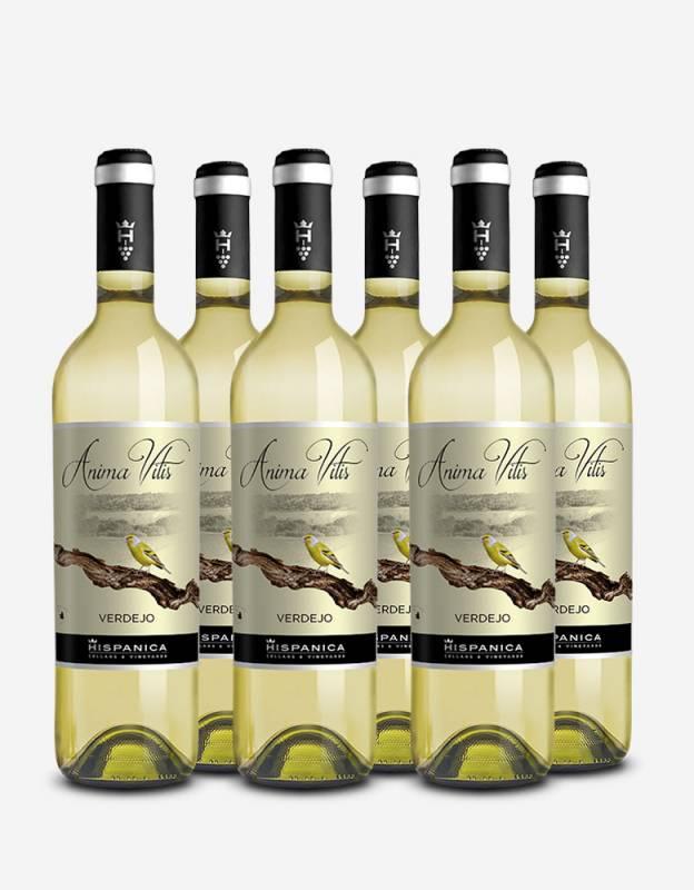 Pack 6 botellas de vino Anima Vitis Verdejo
